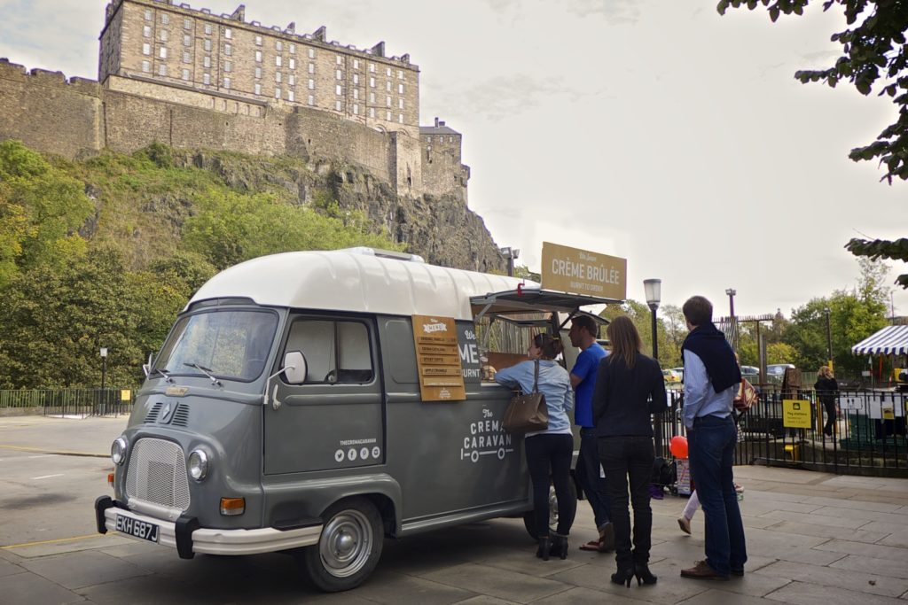 food truck edinburgh