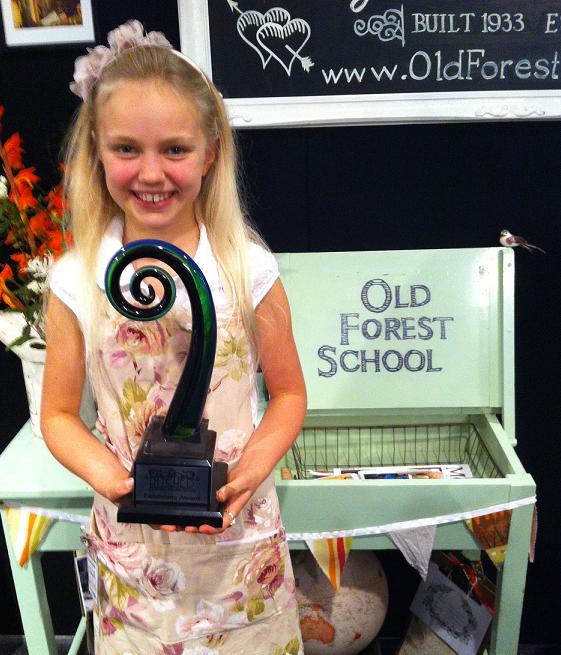 Rose with Rotorua Wedding Show Award